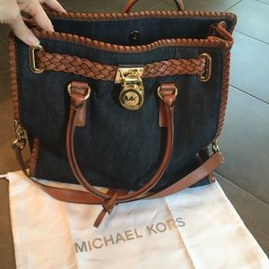 Michael Kors Whipped Hamilton Bag